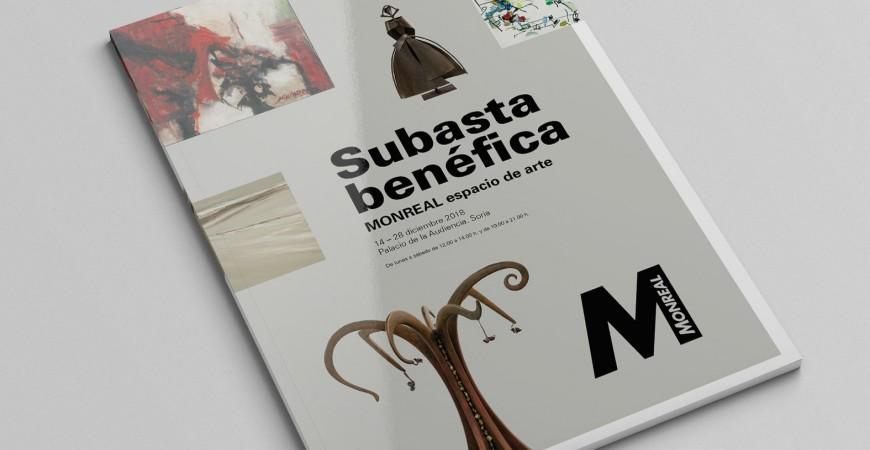 "SUBASTA SOLIDARIA ""ESPACIO DE ARTE"" MONREAL"